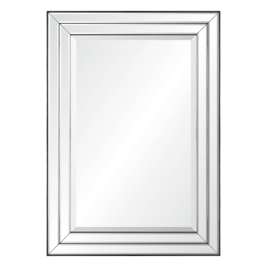 Shop Mirrors & Mirror Accessories At Lowes Within Square Bevelled Mirrors (View 14 of 15)
