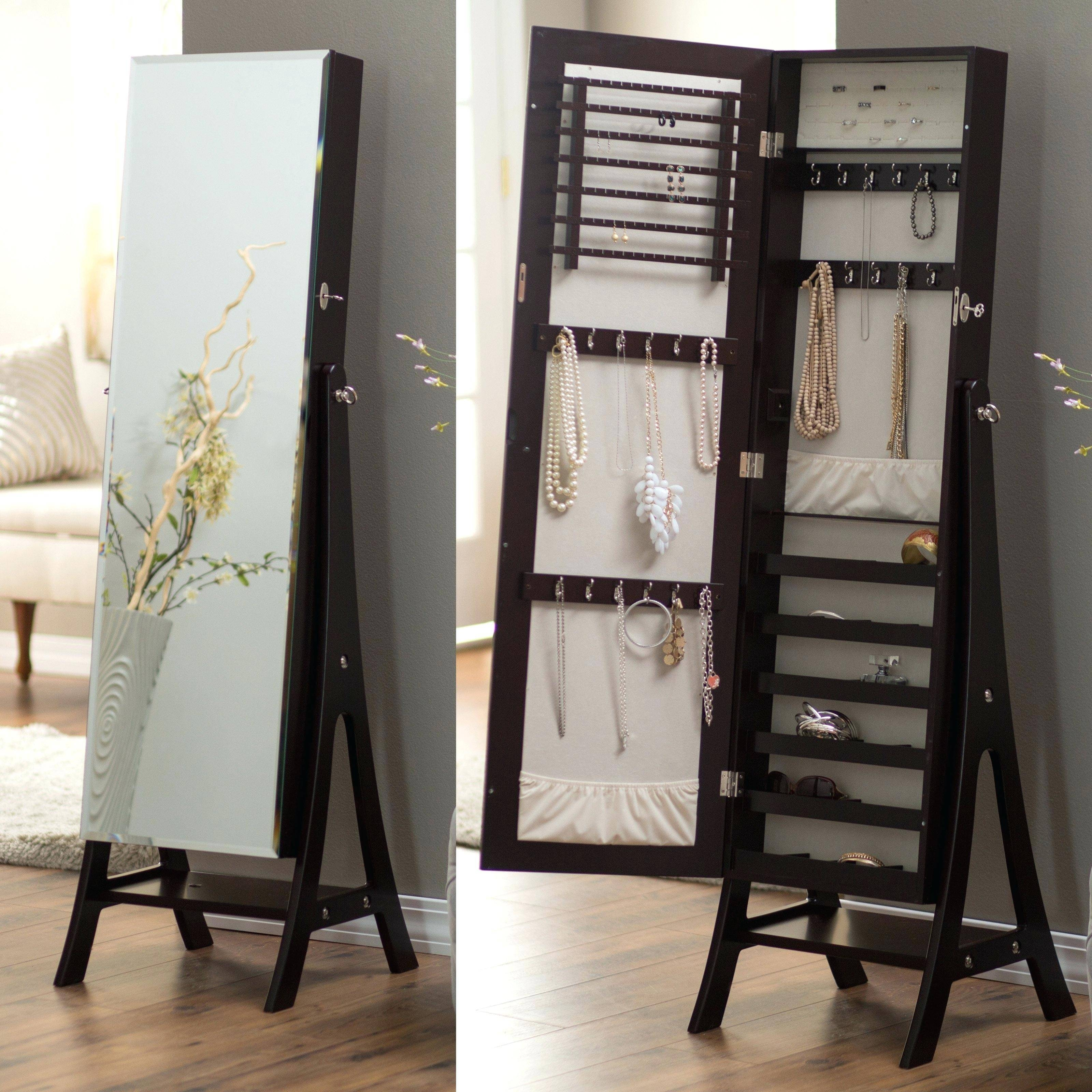 Standing Mirror Jewelry Armoire – Abolishmcrm pertaining to Large Standing Mirrors (Image 14 of 15)