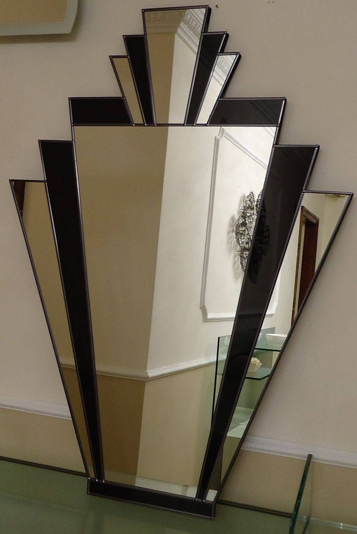 The 25+ Best Art Deco Mirror Ideas On Pinterest | Art Deco, Art Throughout Large Artistic Mirrors (View 2 of 15)