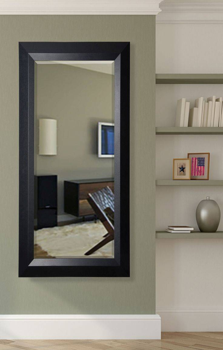 The 25+ Best Black Full Length Mirrors Ideas On Pinterest | Design Regarding Beveled Full Length Mirrors (View 14 of 15)