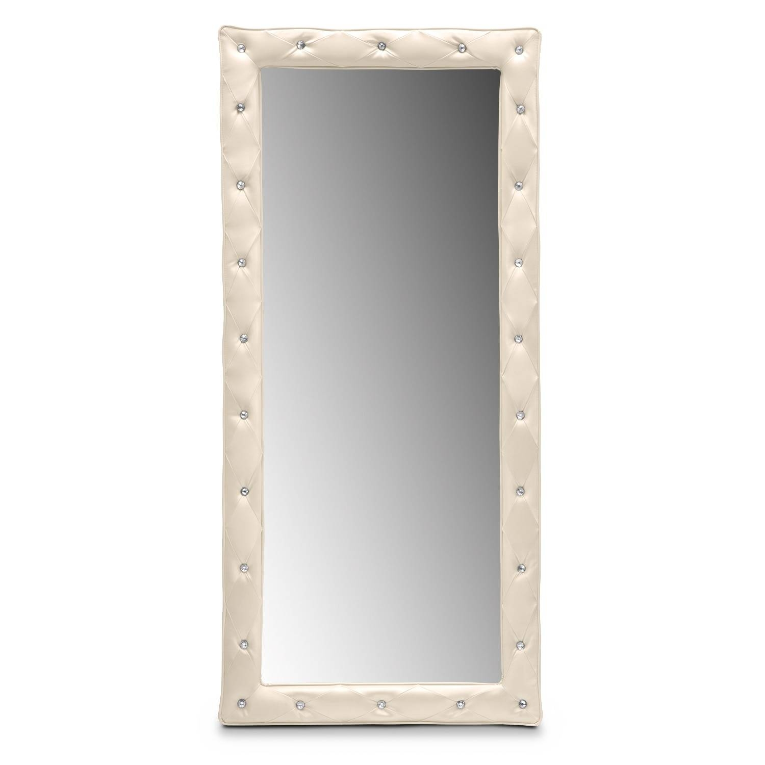 Wall & Floor Mirrors | Bedroom Accents | Value City Furniture And with regard to Bling Floor Mirrors (Image 15 of 15)
