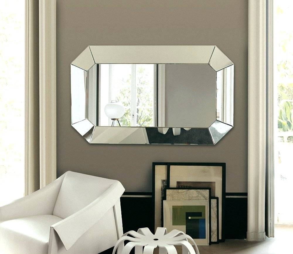 Wall Mirrors ~ Celine Black Leather Round Wall Mirror Leather in Black Leather Framed Mirrors (Image 7 of 15)
