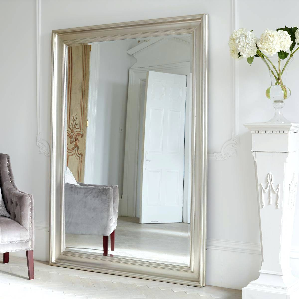 Wall Mirrors ~ Cheap Full Length Mirror Uk Full Length Wall Mirror With Regard To Antique Full Length Wall Mirrors (View 4 of 15)
