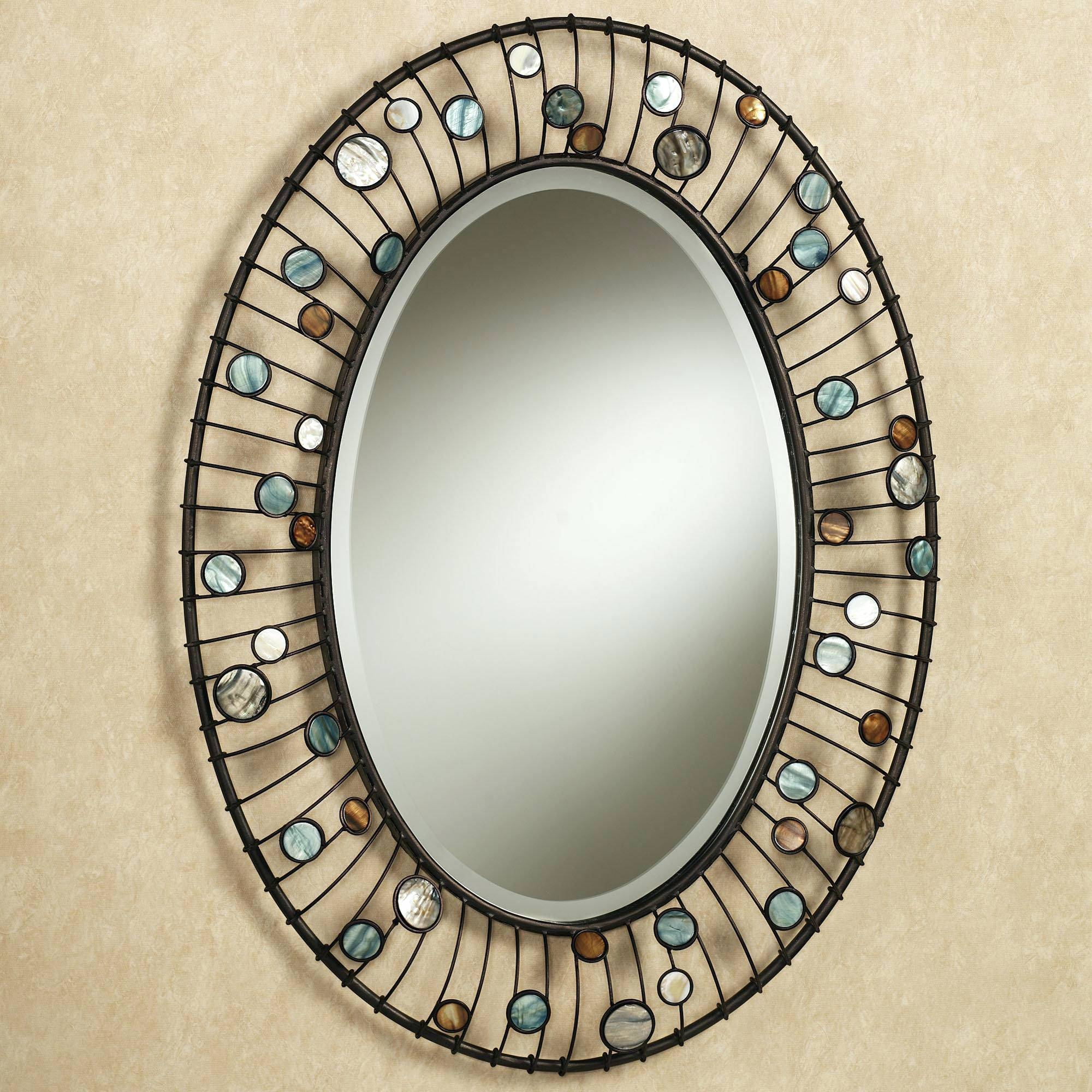Wall Mirrors ~ Featured Image Of Oval Shaped Wall Mirrors Full Pertaining To Oval Shaped Wall Mirrors (View 2 of 15)