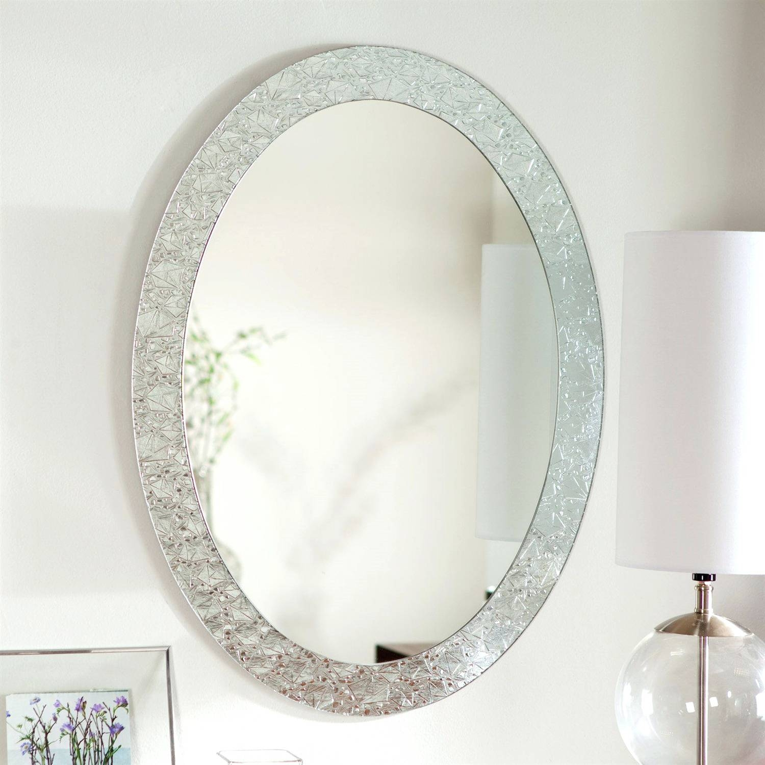 Wall Mirrors ~ Featured Image Of Oval Shaped Wall Mirrors Oval throughout Oval Shaped Wall Mirrors (Image 8 of 15)