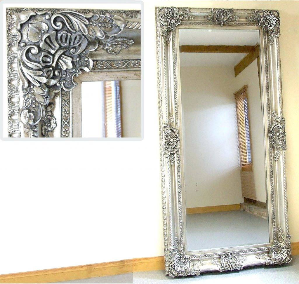 Wall Mirrors ~ Full Length Decorative Wall Mirror Full Length for Full Length Gold Mirrors (Image 15 of 15)