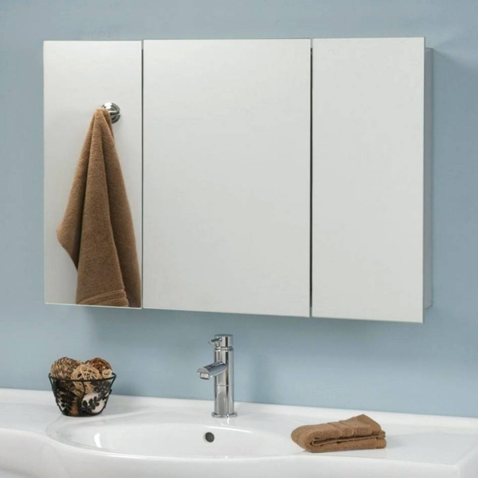 Wall Mirrors ~ Full Size Of Mirrorlarge Bevelled Dressing Table Pertaining To Triple Wall Mirrors (View 9 of 15)