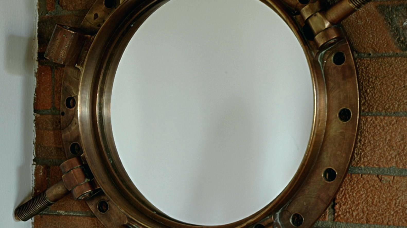 Wall Mirrors ~ Large Round Convex Wall Mirror Round Decorative intended for Convex Wall Mirrors (Image 13 of 15)