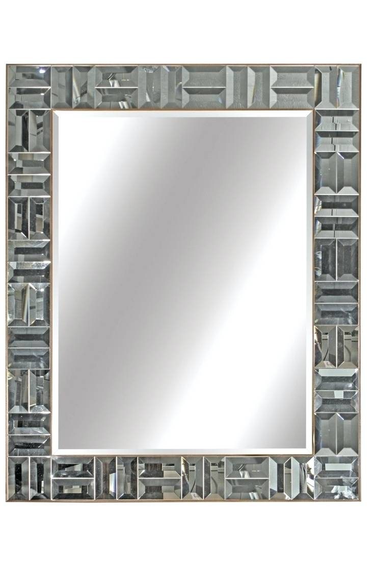 Wall Mirrors ~ Leather Wall Mirror Sale Leather Framed Mirrors Uk in Black Leather Framed Mirrors (Image 13 of 15)