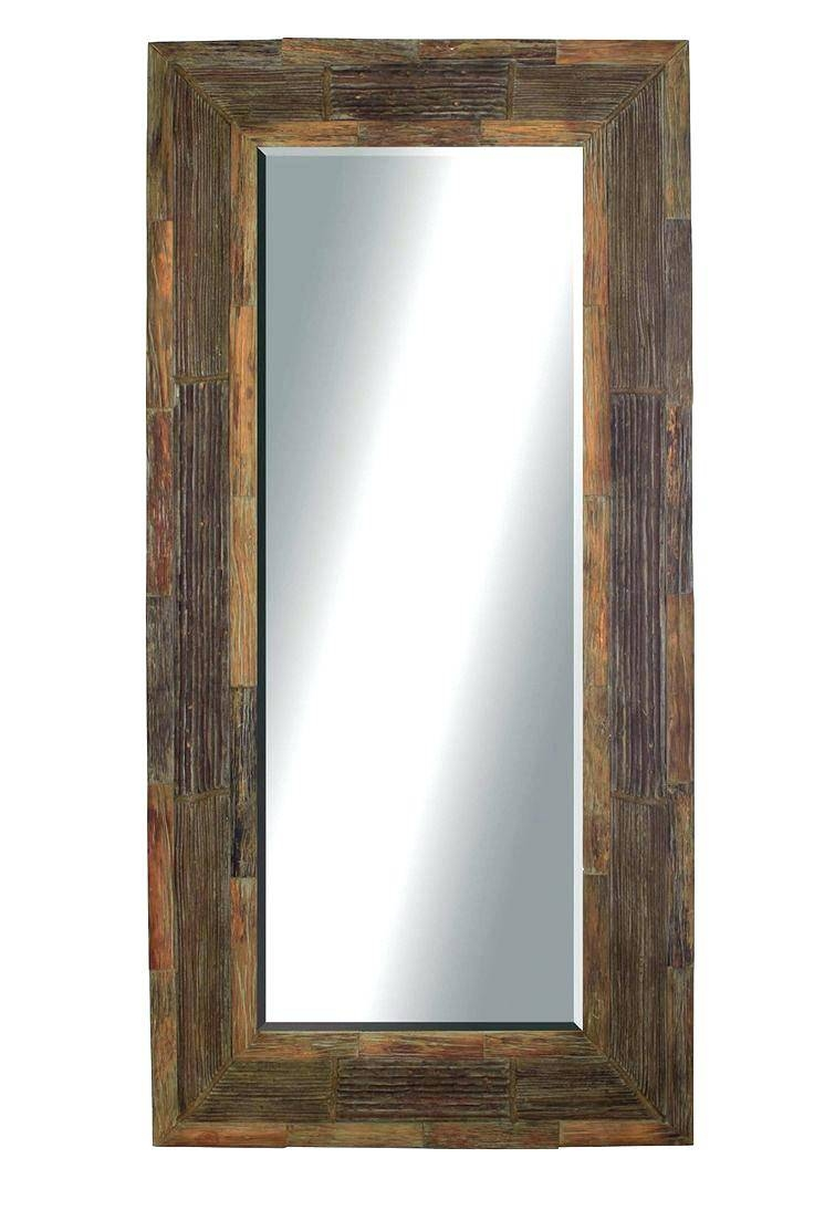 Wall Mirrors ~ Leather Wall Mirror Sale Leather Framed Mirrors Uk With Black Leather Framed Mirrors (View 6 of 15)