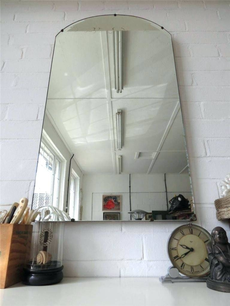 Wall Mirrors ~ Living Extra Large Bevelled Edge Wall Mirror Extra Inside Vintage Bevelled Edge Mirrors (View 6 of 15)