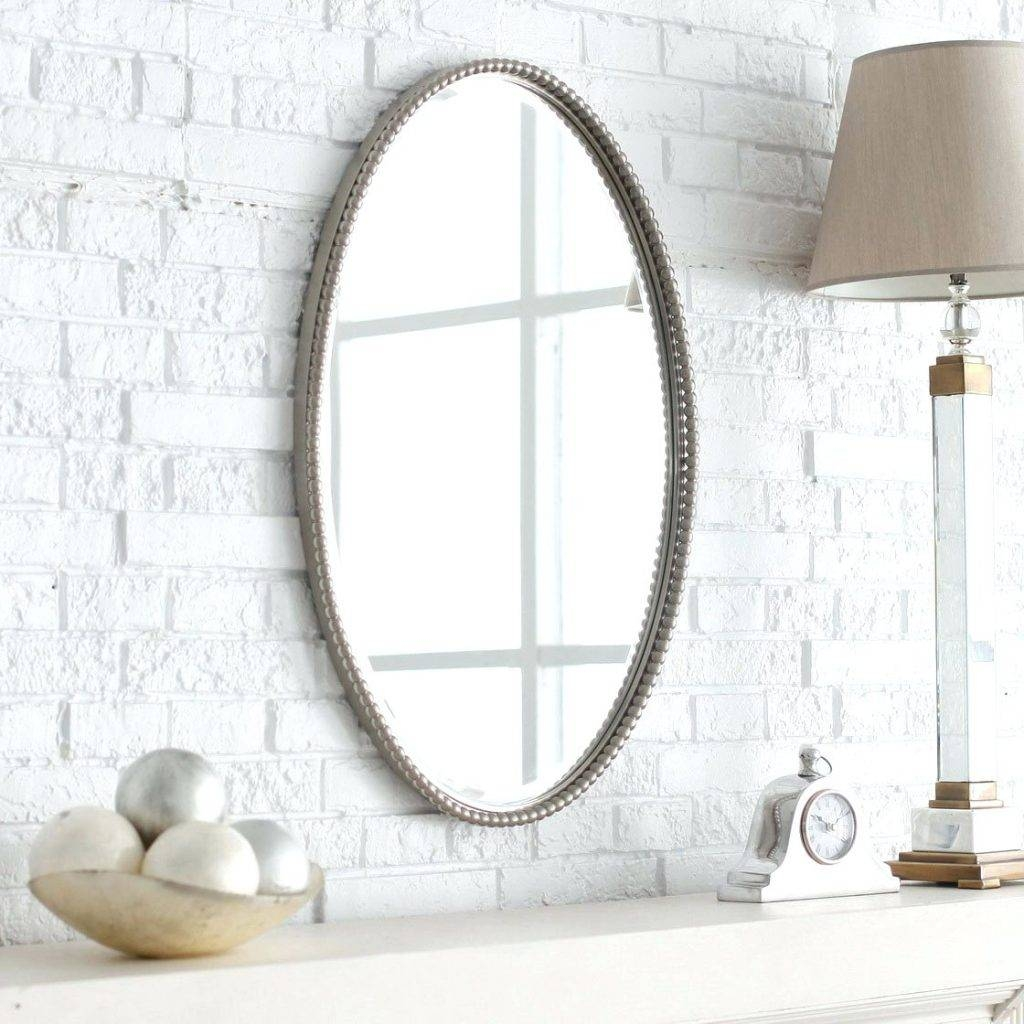 Wall Mirrors ~ Ornate Antique Gold Small Oval Mirror Amazoncouk with Oval Shaped Wall Mirrors (Image 11 of 15)