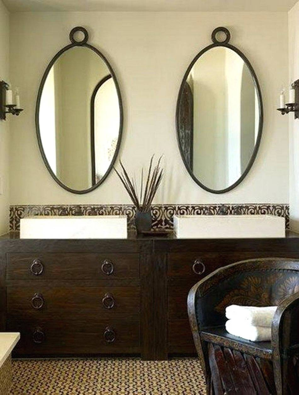 Wall Mirrors ~ Oval Shaped Bathroom Mirrors Oval Shaped Wall With Regard To Oval Shaped Wall Mirrors (View 8 of 15)