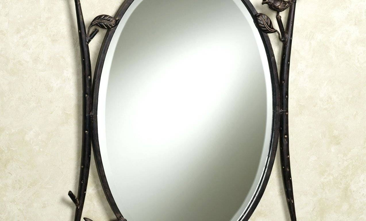 Wall Mirrors: Oval Shaped Wall Mirrors. Oval Shaped Wall Mirrors (View 14 of 15)