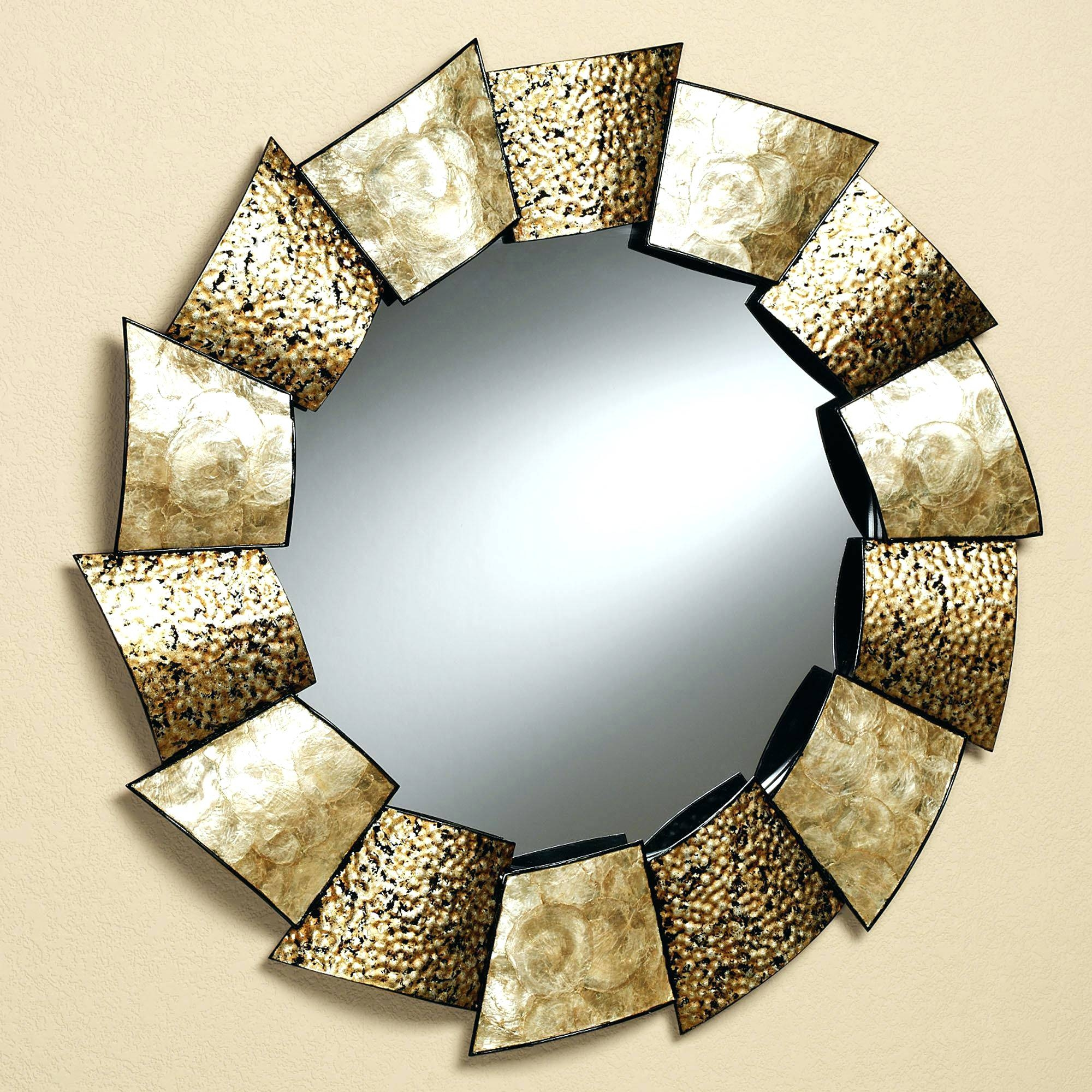 Wall Mirrors ~ Oval Shaped Wall Mirrors Unique Wall Mirror Decor For Oval Shaped Wall Mirrors (View 9 of 15)