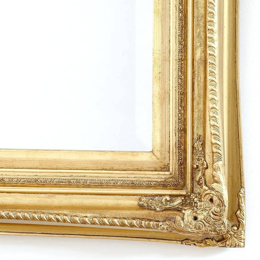 Wall Mirrors ~ Rose Gold Round Wall Mirror Small Gold Wall Mirrors For Gold Mirrors (View 12 of 15)