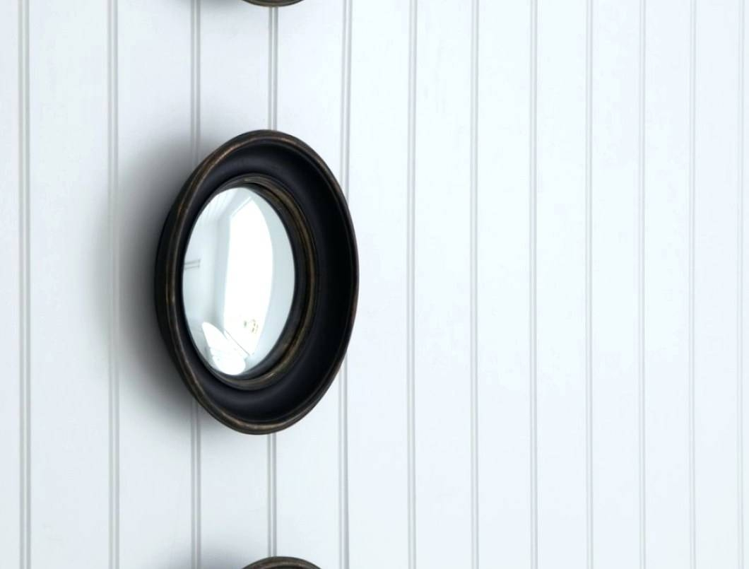 Wall Mirrors ~ Round Convex Wall Mirror Large Round Convex Wall Within White Convex Mirrors (View 9 of 15)