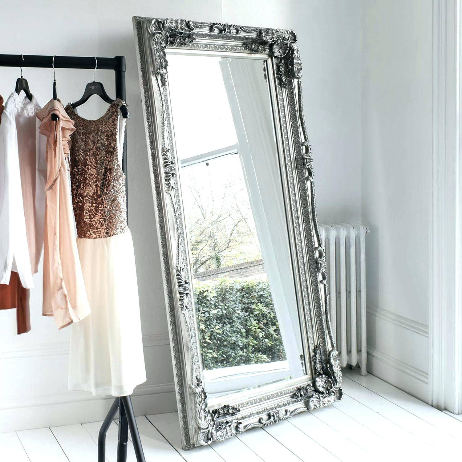 Wall Mirrors ~ Shabby Chic Long Wall Mirrors Cheap Shabby Chic inside Shabby Chic Long Mirrors (Image 14 of 15)