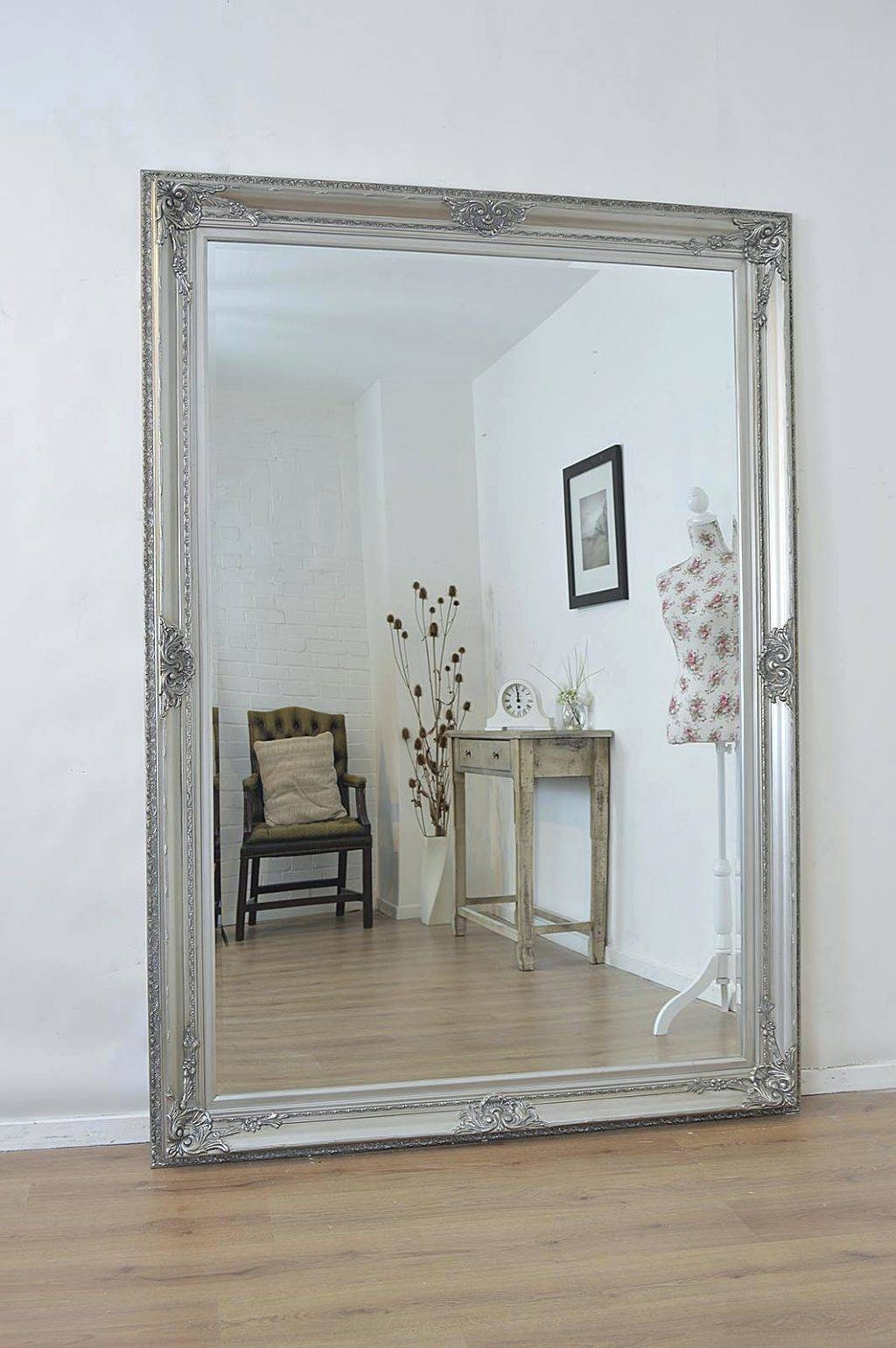 Wall Mirrors: Standing Wall Mirrors. Standing Wall Mirrors. Large within Large Standing Mirrors (Image 15 of 15)