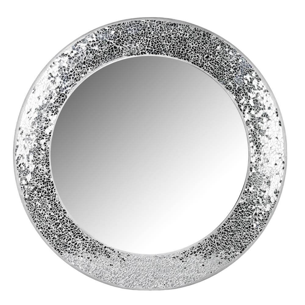 Featured Photo of Round Mosaic Mirrors