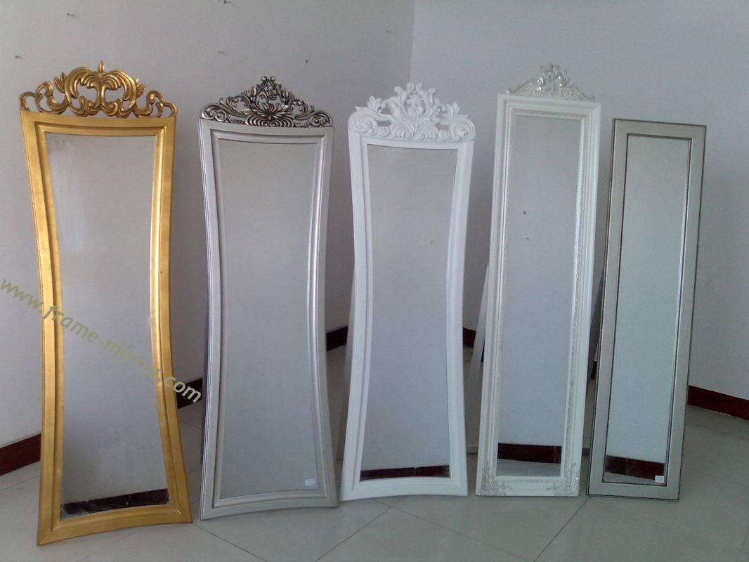 Wooden Framed Cheval Mirror,standing Dressing Mirror In Standing Dressing Mirrors (View 2 of 15)