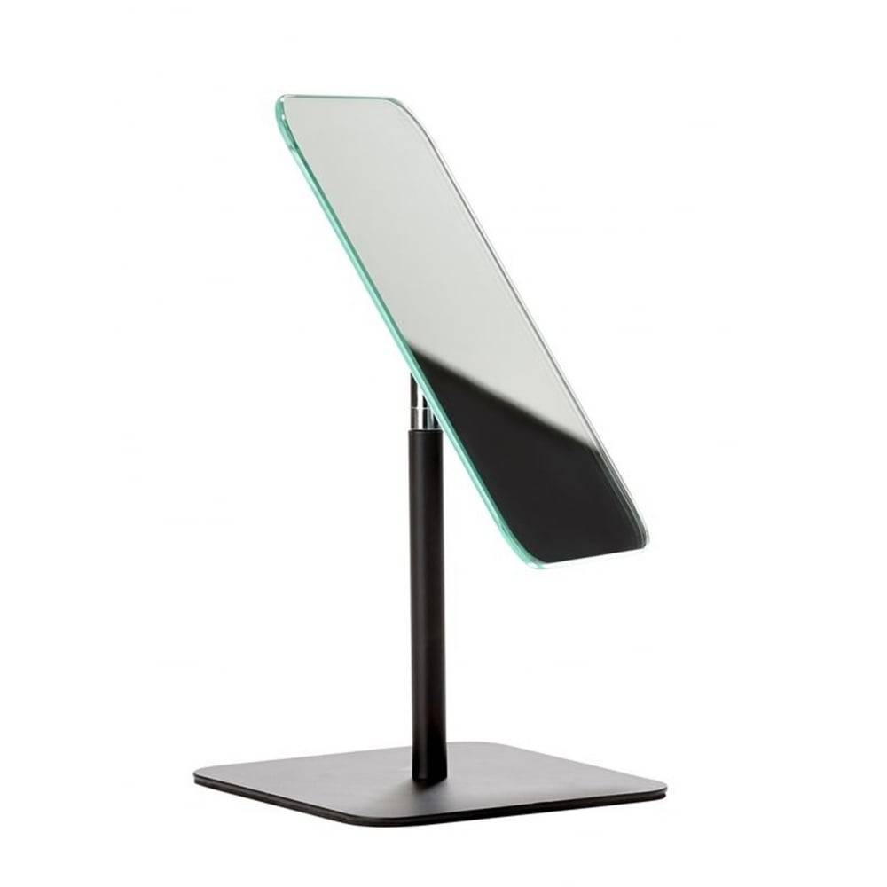 Zone Denmark Bathroom/dressing Table Mirror | Black | Blackdesign in Free Standing Dressing Table Mirrors (Image 15 of 15)