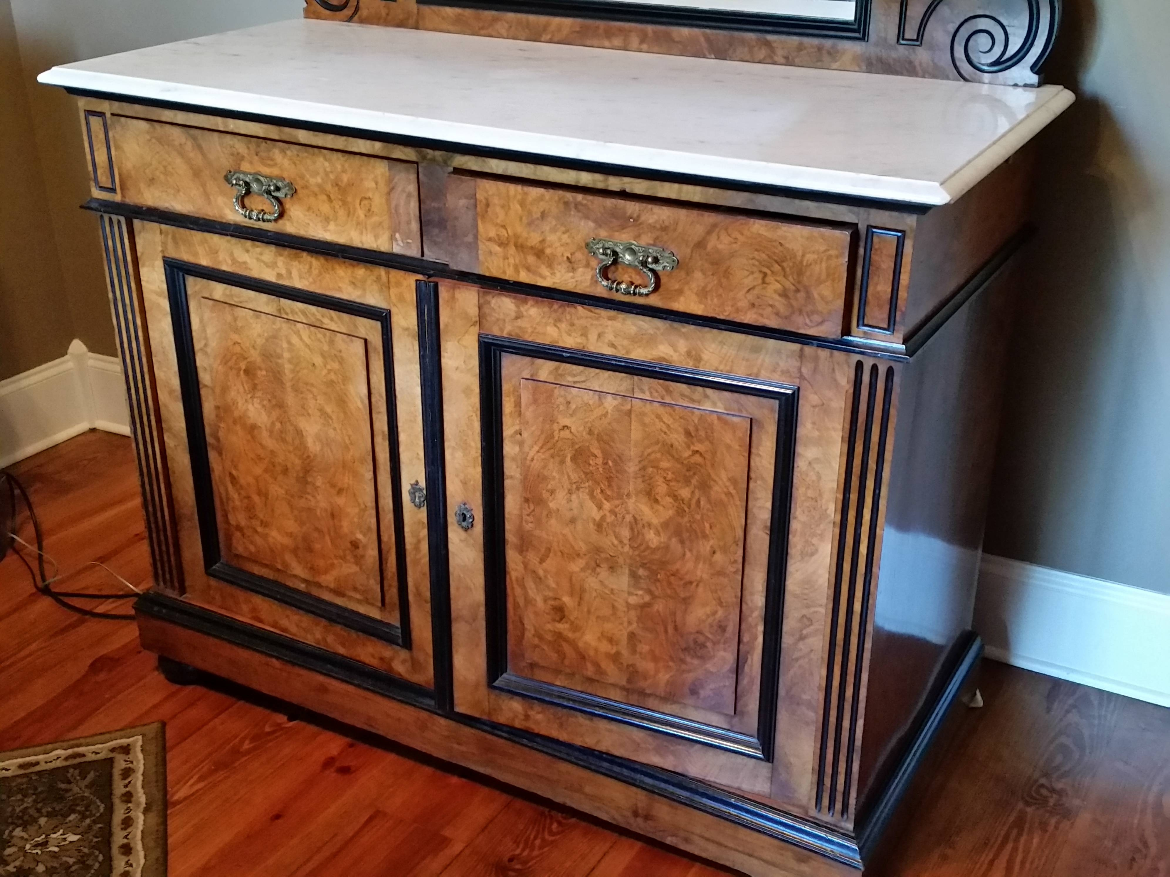 19Th Century Buffet Sideboard For Sale | Antiques | Classifieds with regard to Antique Marble Top Sideboards (Image 2 of 15)