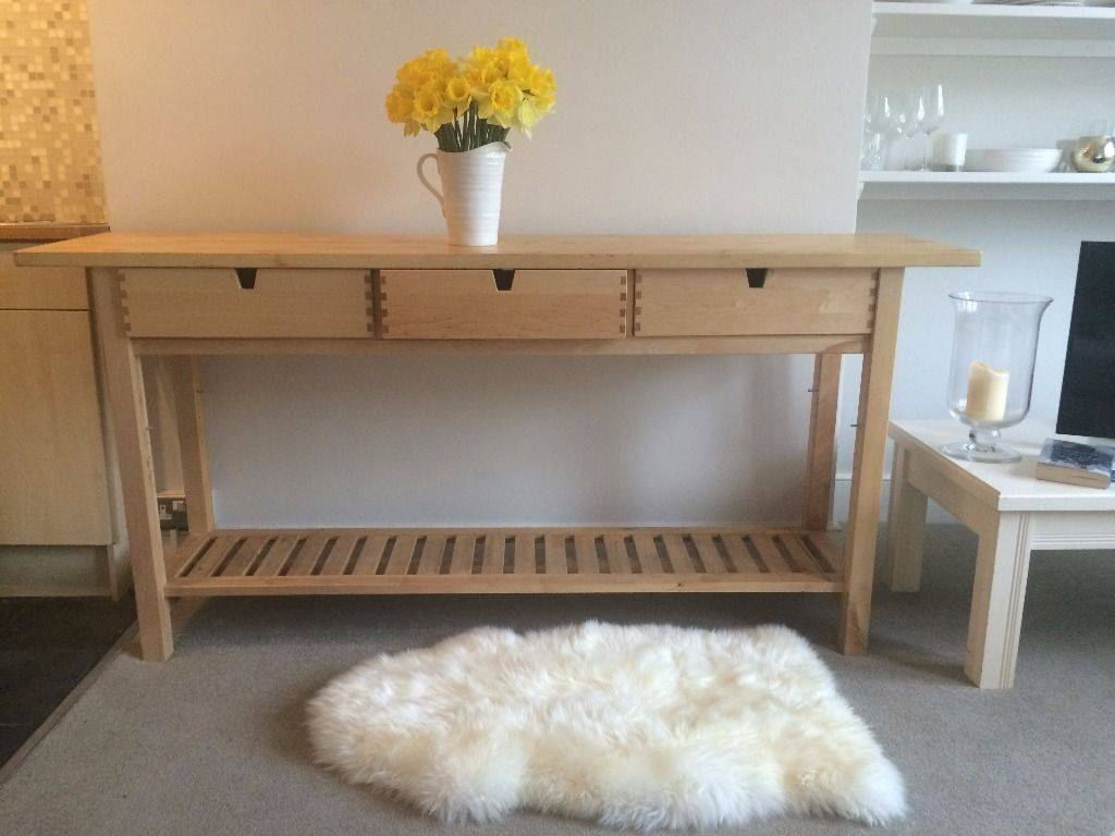 25 Ways To Use And Hack Ikea Norden Buffet - Digsdigs for Norden Sideboards (Image 1 of 15)