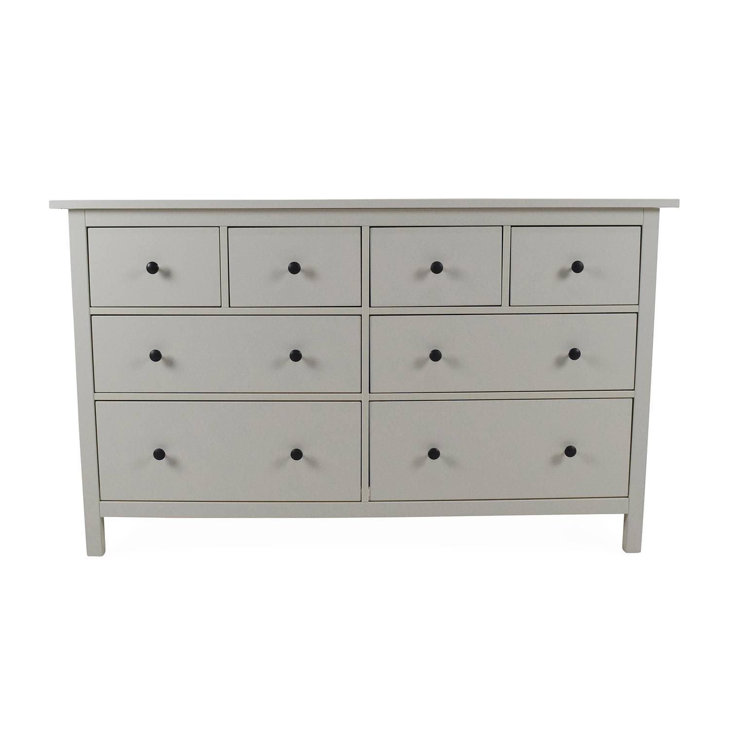 49% Off - Ikea Ikea Hemnes 8-Drawer Dresser / Storage for Second Hand Dressers And Sideboards (Image 1 of 15)