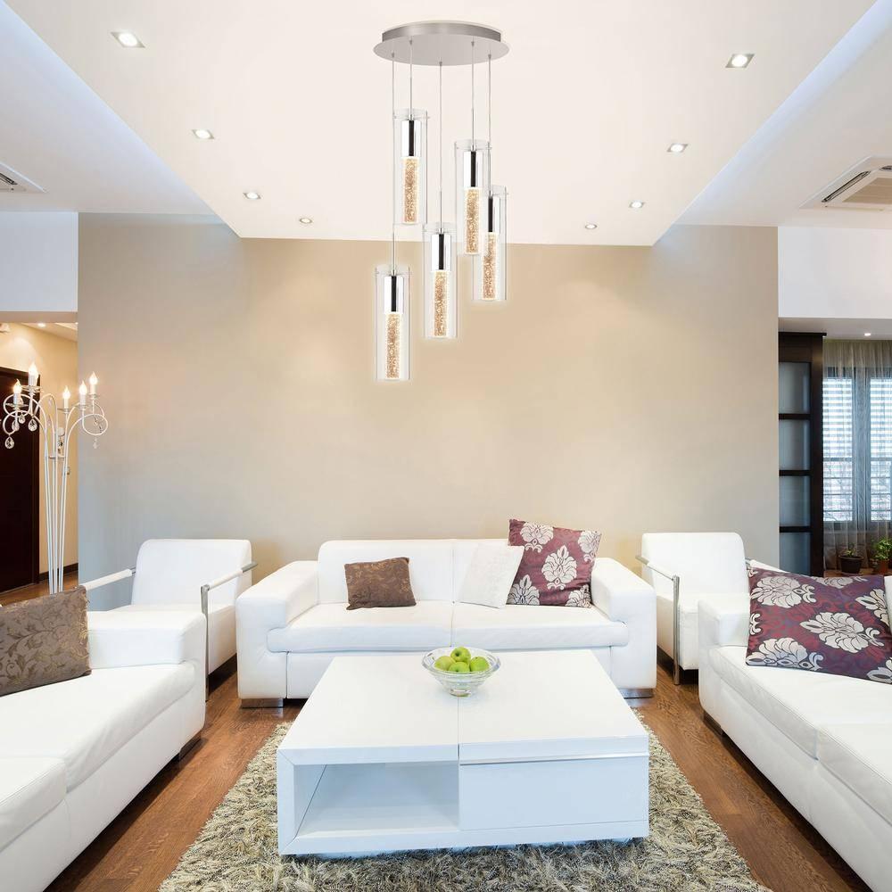 5 Pendant Bubble Light Fixture – Lighting | Artika For Bubble Pendant Light Fixtures (View 15 of 15)