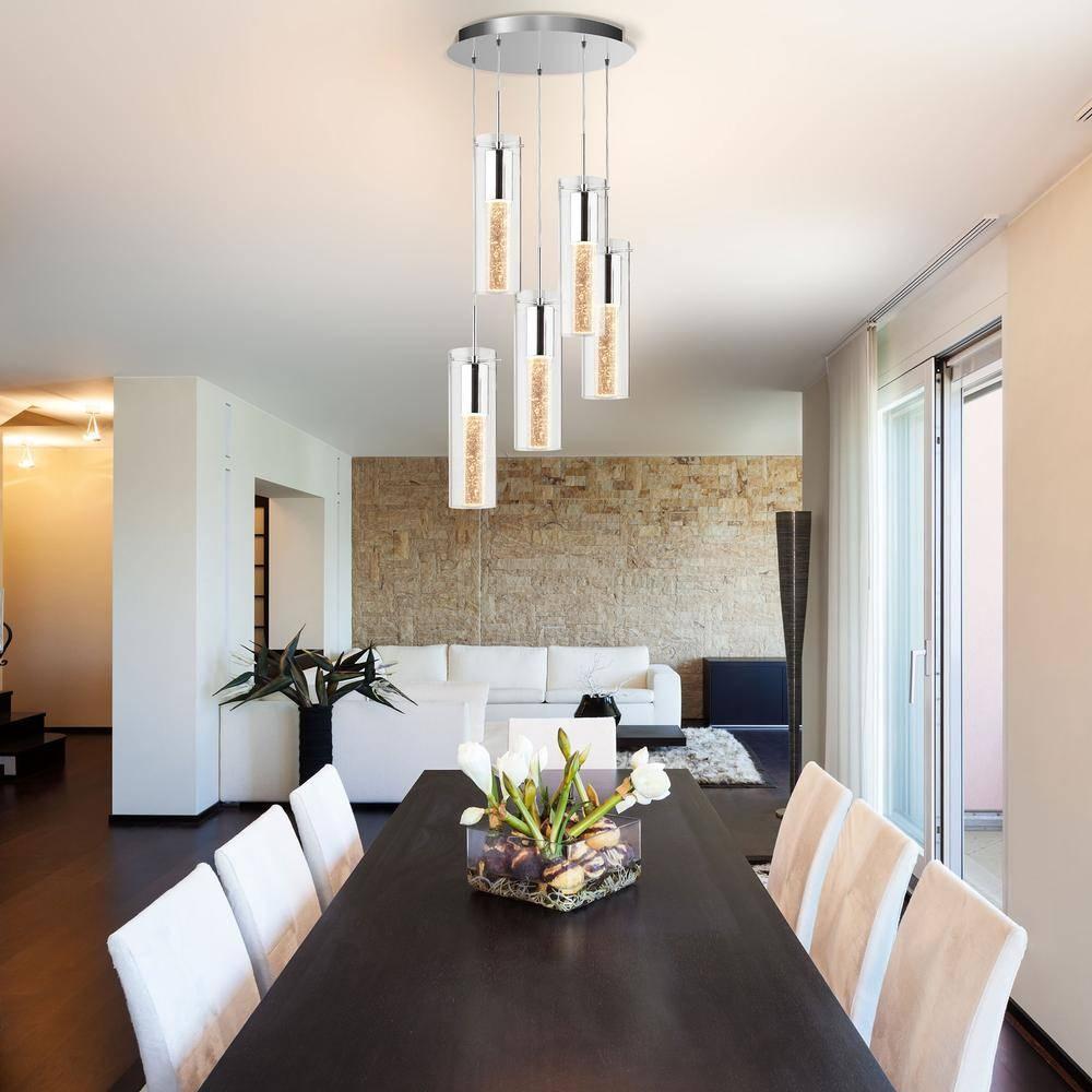 5 Pendant Bubble Light Fixture – Lighting | Artika Throughout Bubble Pendant Light Fixtures (View 7 of 15)
