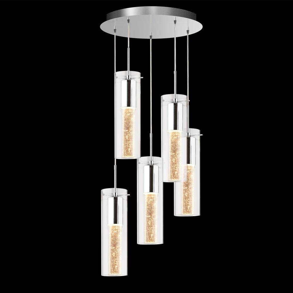 5 Pendant Bubble Light Fixture – Lighting | Artika With Regard To Bubble Pendant Light Fixtures (Gallery 1 of 15)