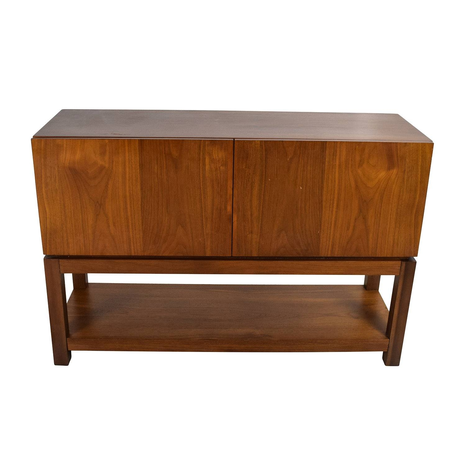 59% Off - West Elm West Elm Parsons Buffet / Storage intended for West Elm Sideboards (Image 2 of 15)