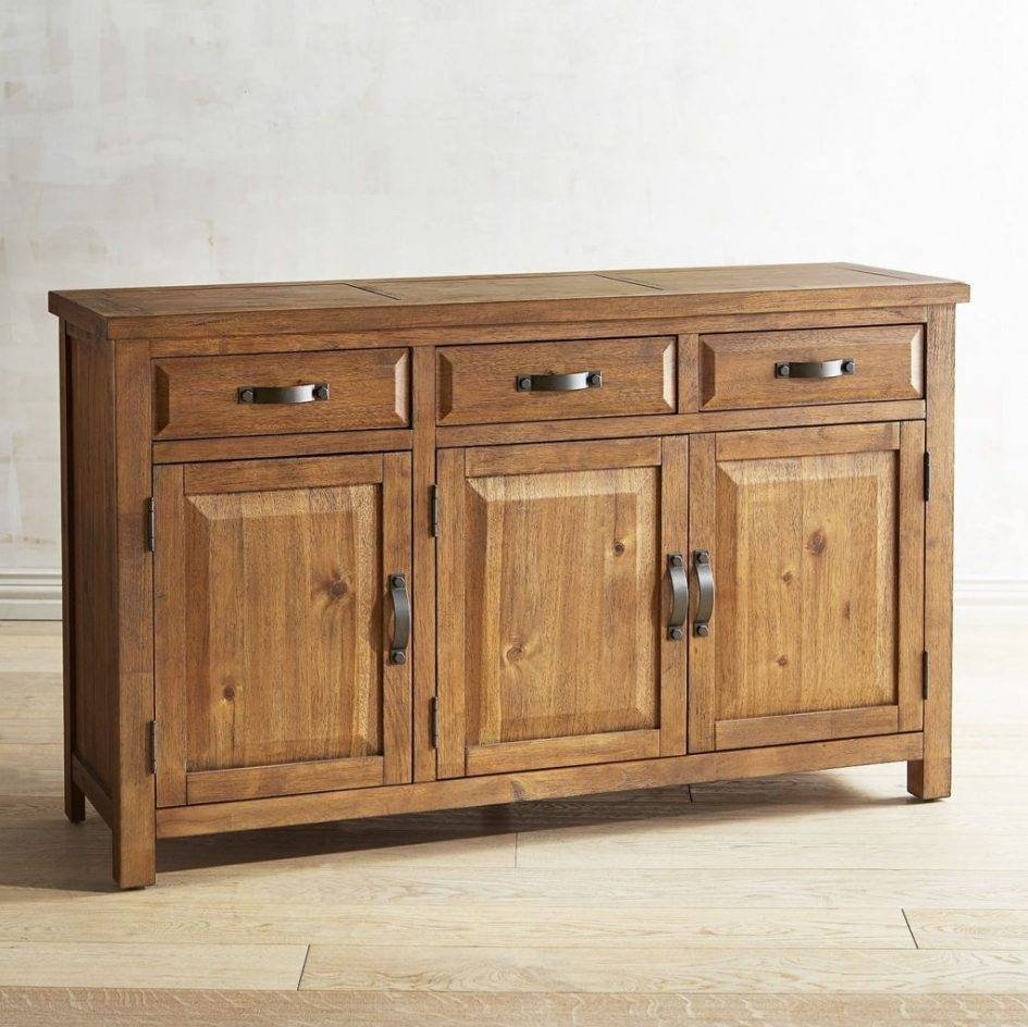 60 Inch Buffet Table Sideboard Hutch Furniture Buffet With Wine Regarding 60 Inch Sideboards (Photo 1 of 15)