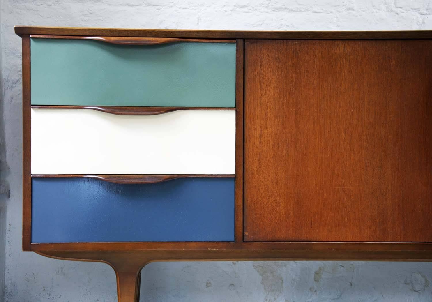 60's Upcycled G Plan Sideboard – Bring It On Home Pertaining To Quirky Sideboards (View 3 of 15)