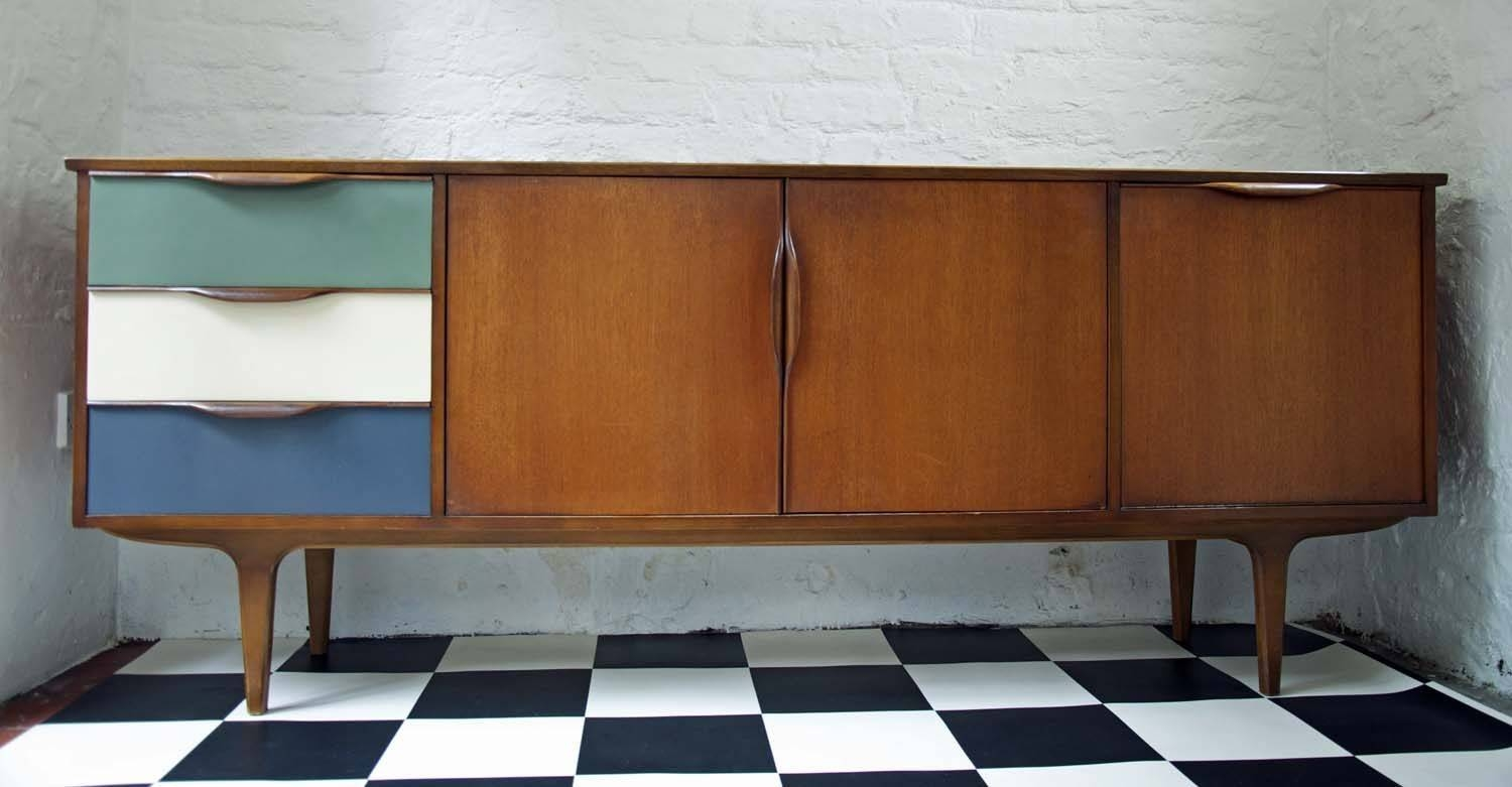 60's Upcycled G Plan Sideboard – Bring It On Home With Regard To Quirky Sideboards (Gallery 5 of 15)
