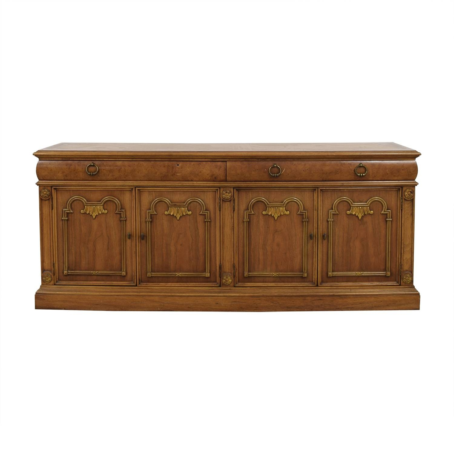79% Off   Thomasville Thomasville Buffet Storage Cabinet / Storage Intended For Thomasville Sideboards (Photo 5 of 15)