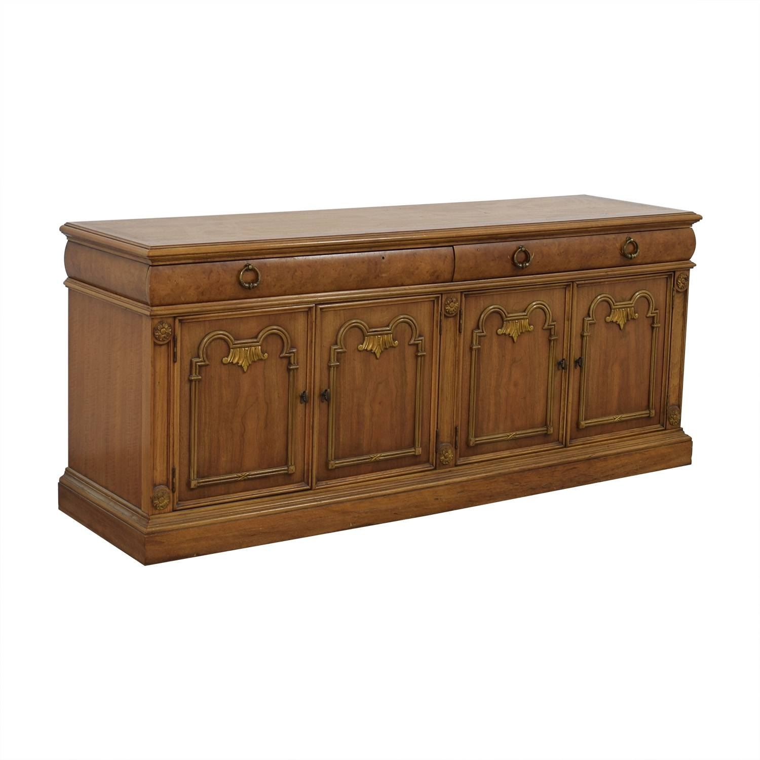 79% Off - Thomasville Thomasville Buffet Storage Cabinet / Storage with regard to Thomasville Sideboards (Image 3 of 15)