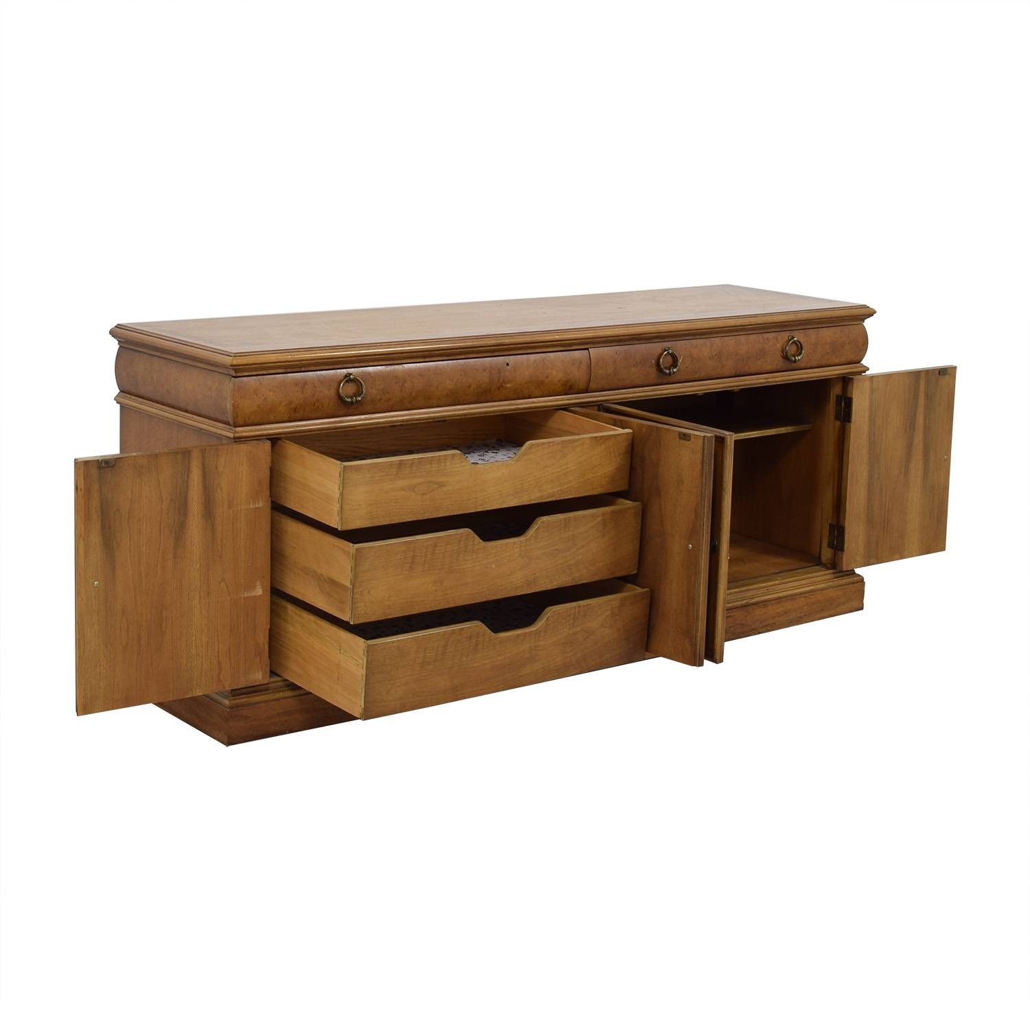 79% Off - Thomasville Thomasville Buffet Storage Cabinet / Storage within Thomasville Sideboards (Image 5 of 15)