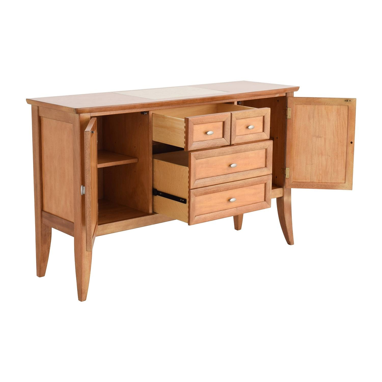 90% Off   Thomasville Thomasville Buffet Table / Storage Within Thomasville Sideboards (Photo 13 of 15)