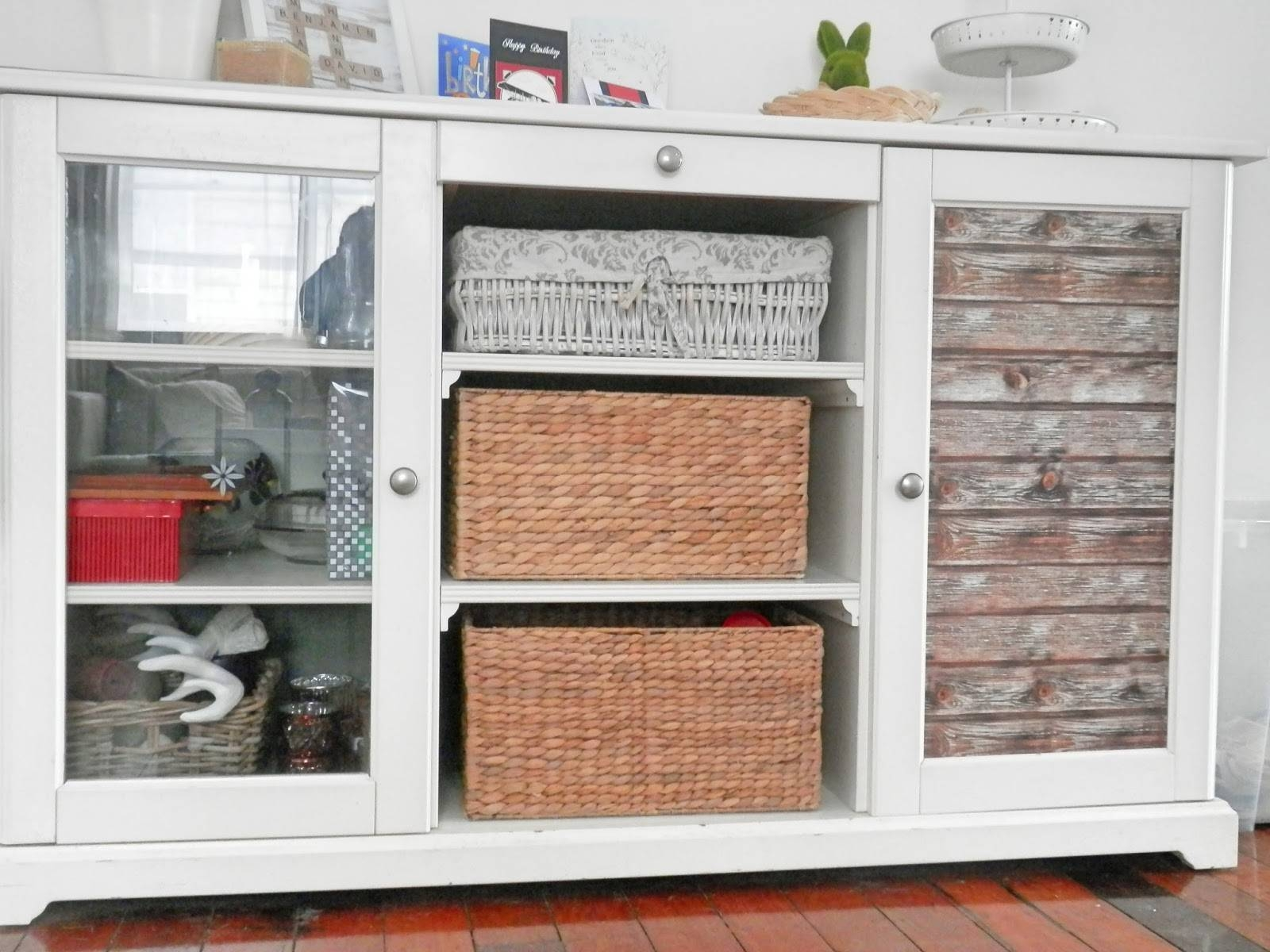 A Pocketful Of Me: Ikea Liatorp Hack: Rustic Sideboard Makeover for Liatorp Sideboards (Image 1 of 15)