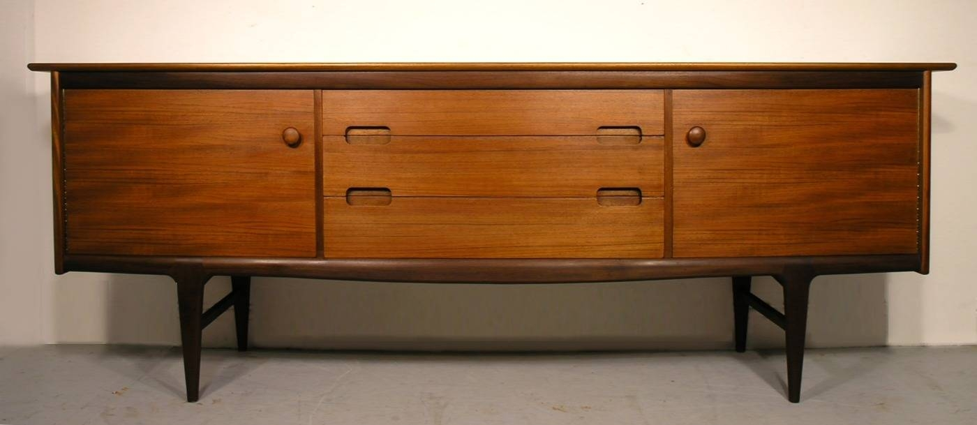 A. Younger Sideboard Fonseca Teak Afromosia Sideboard Retro for A Younger Sideboards (Image 1 of 15)