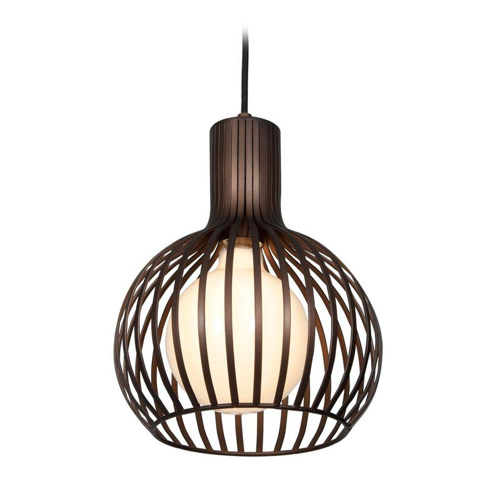 Access Lighting Chuki White Mini-Pendant Light With Globe Shade intended for White Mini Pendant Lights (Image 1 of 15)