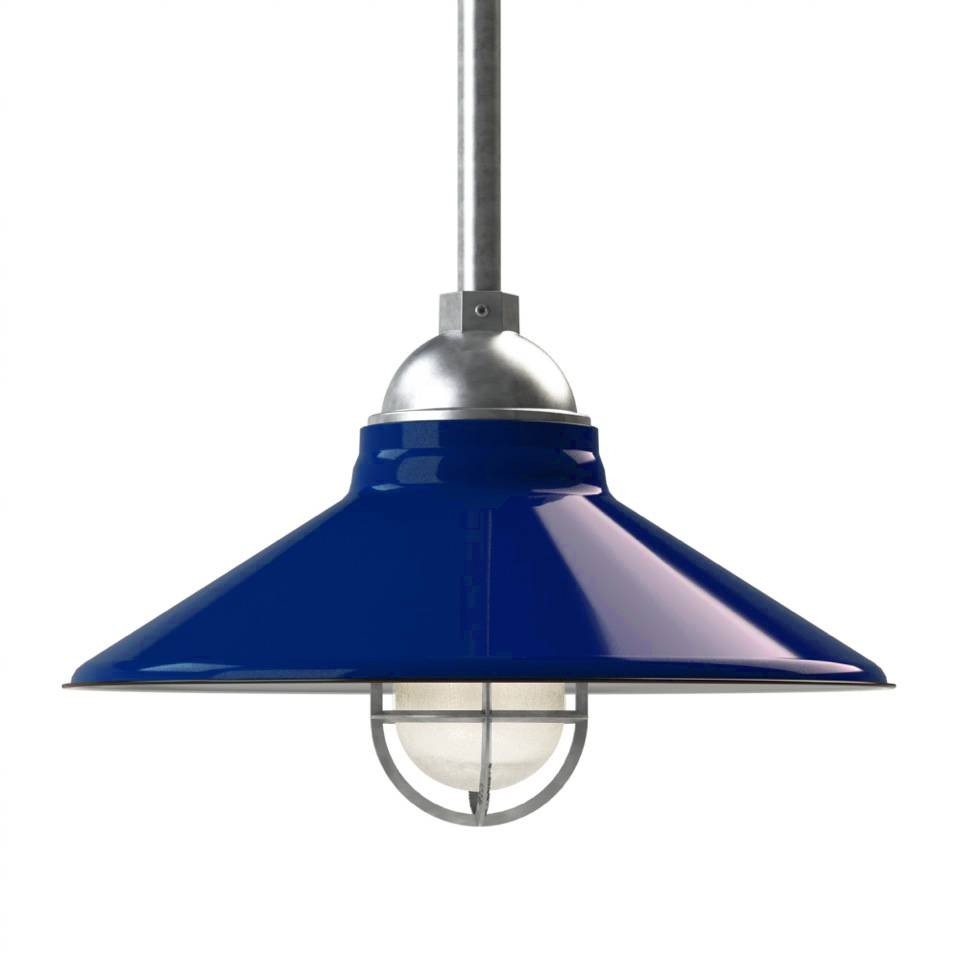 Adorable Cleveland Led Vintage Stem Mount Light Barn Electric On Inside Blue Glass Pendant Lights (View 14 of 15)