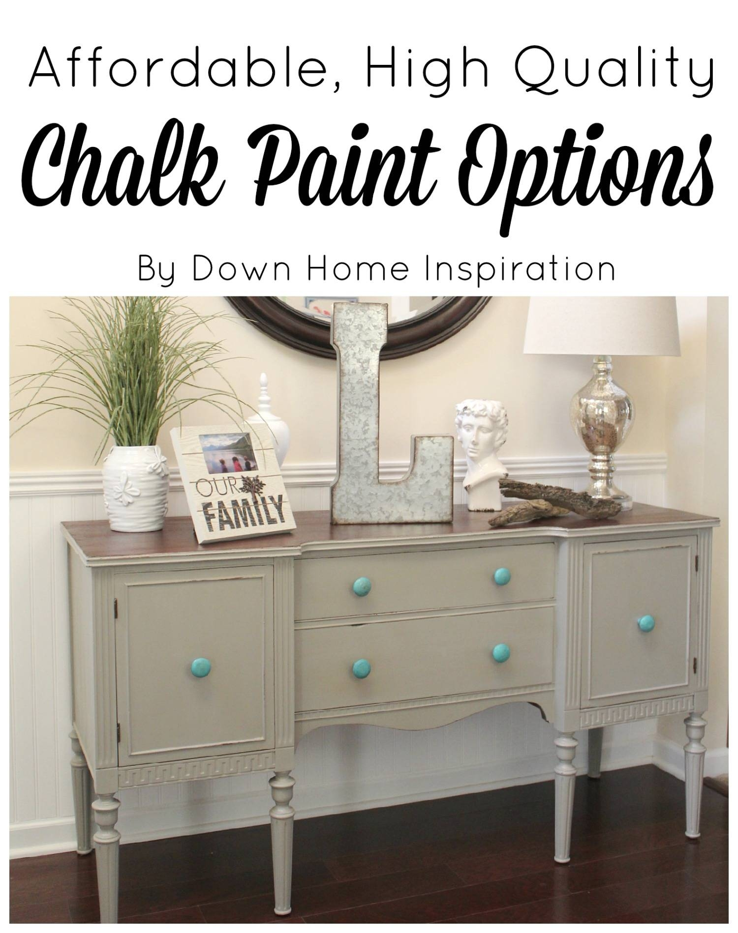 Affordable And High Quality Chalk Paint Options And My Sideboard in Chalk Painted Sideboards (Image 1 of 15)