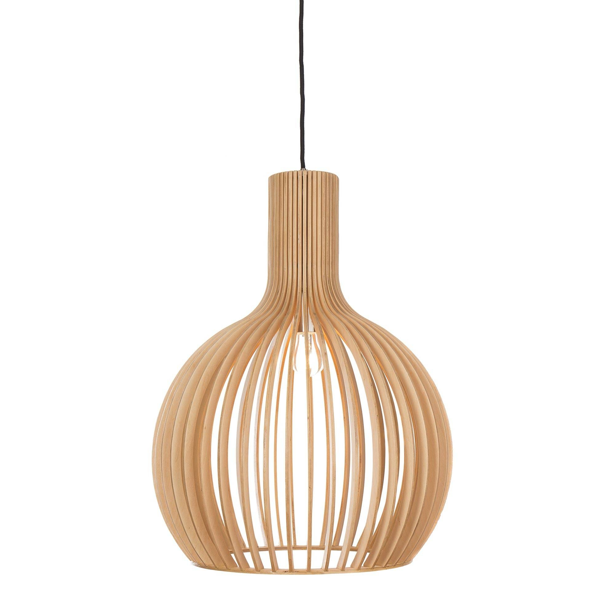 Ales Pendant Lamp, Natural Inside Natural Pendant Lights (Photo 1 of 15)
