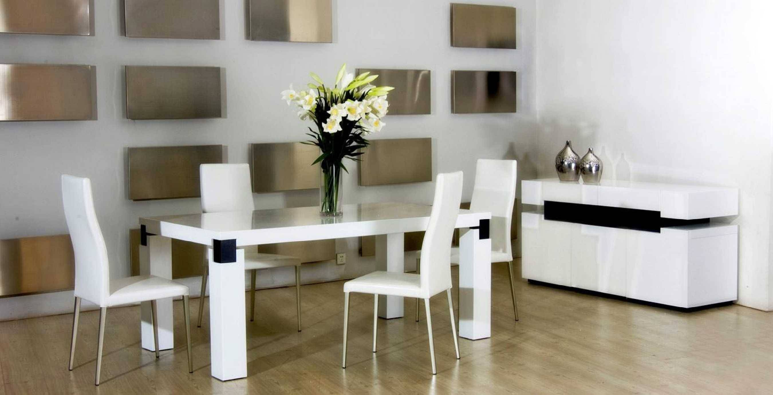 Alliancemv - Design Chairs And Dining Room Table regarding Dining Room Sets With Sideboards (Image 1 of 15)