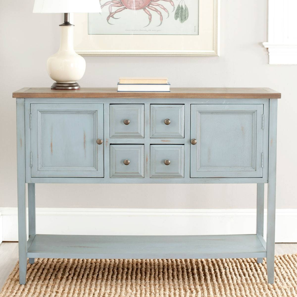 Amh6517b Consoles – Furnituresafavieh For Safavieh Sideboards (View 15 of 15)