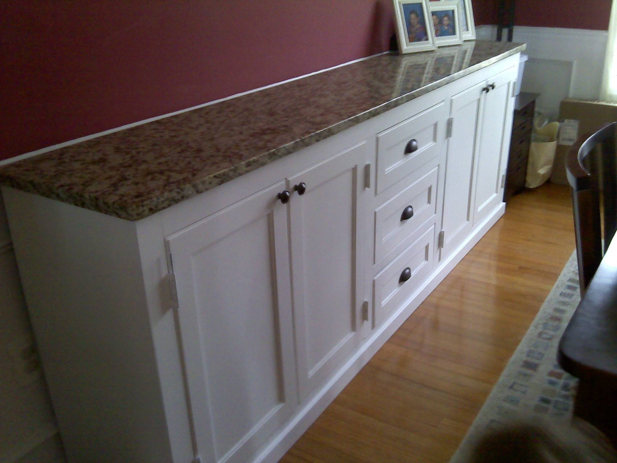 Ana White | Dining Room Buffet Cabinet – Diy Projects Within Dining Room Sideboards And Buffets (View 7 of 15)