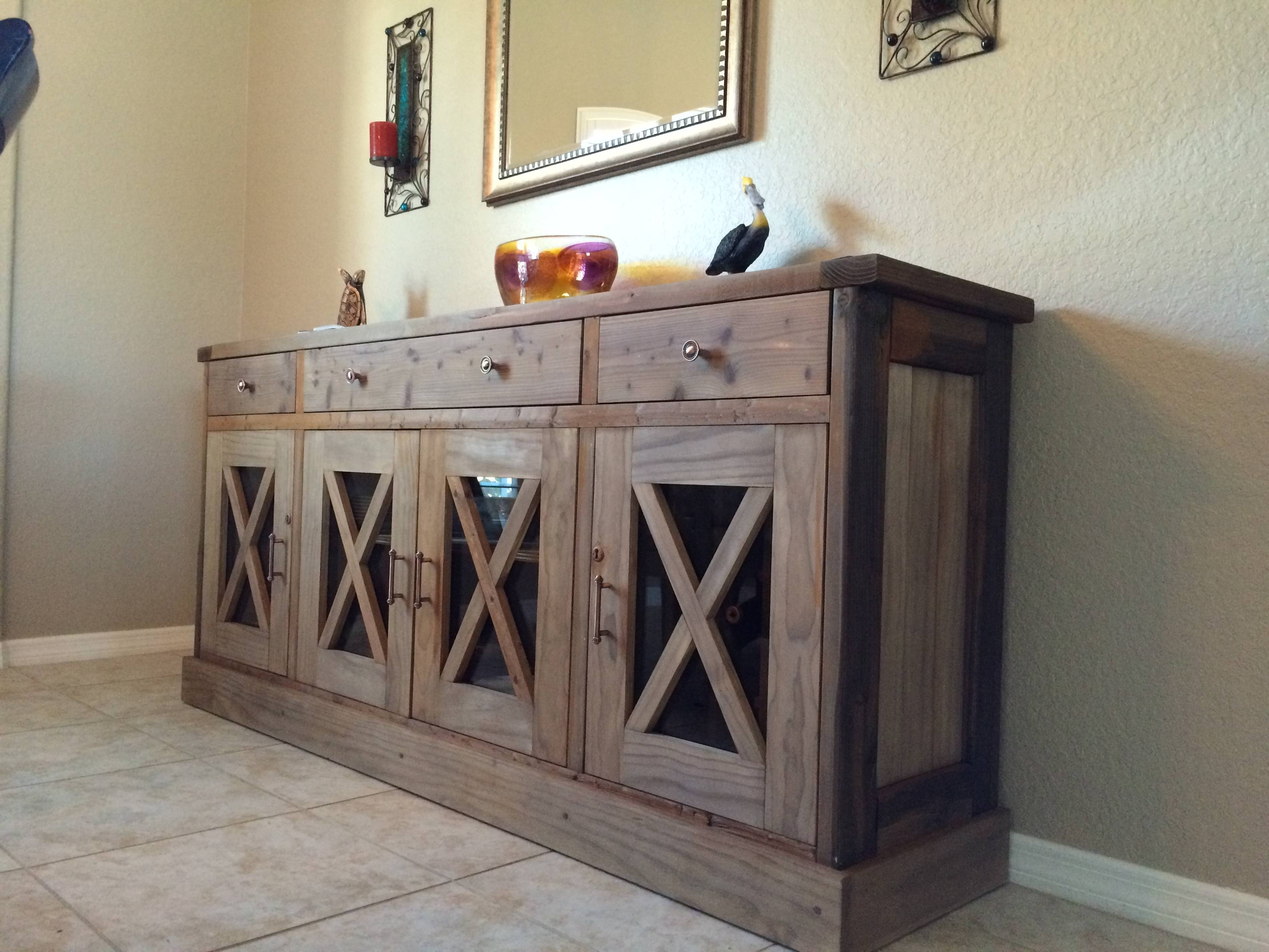 Ana White | Dining Room Sideboard – Diy Projects Within Diy Sideboards (View 9 of 15)
